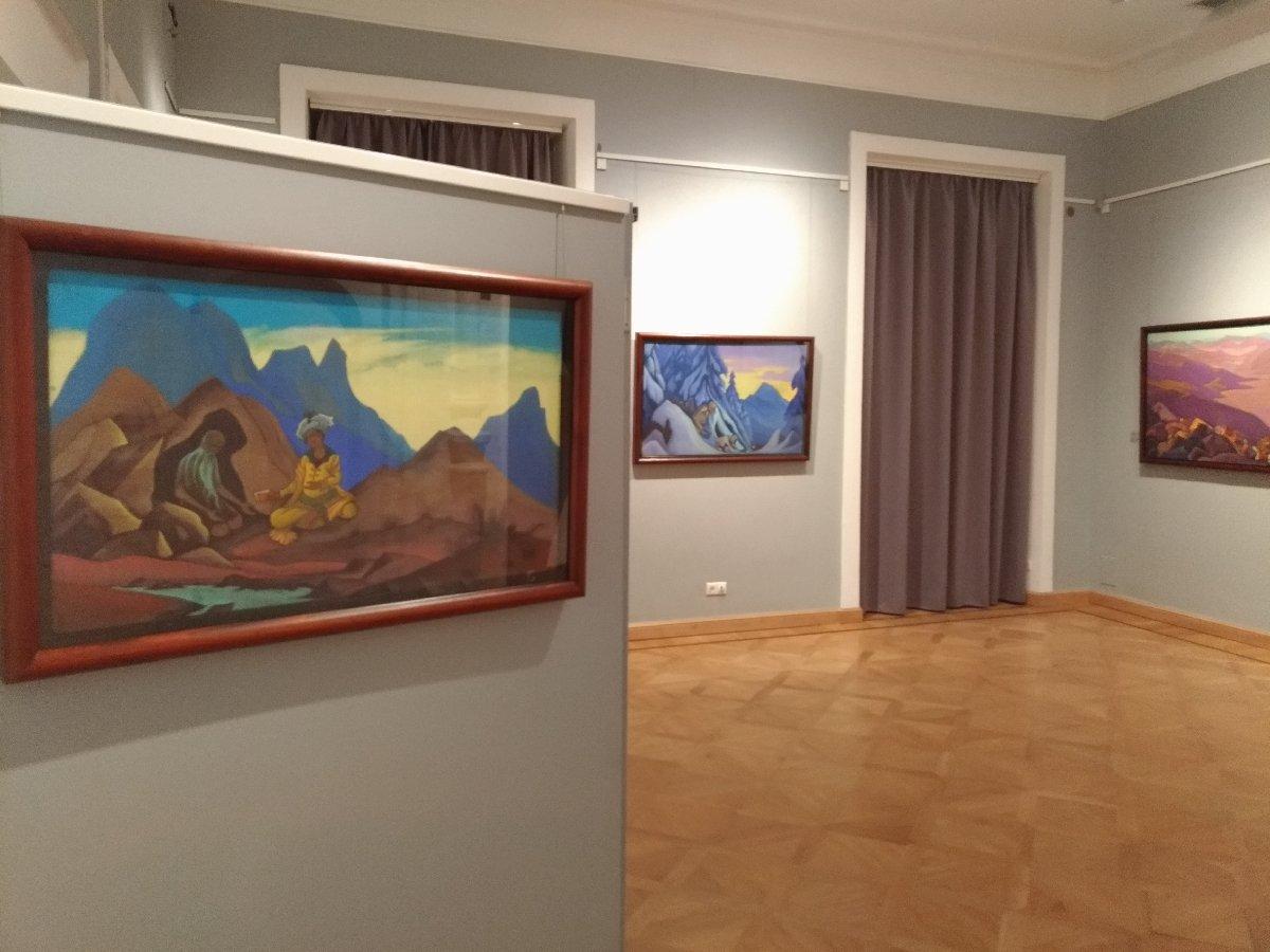 Выставка «Николай Рерих. Святыни итвердыни»