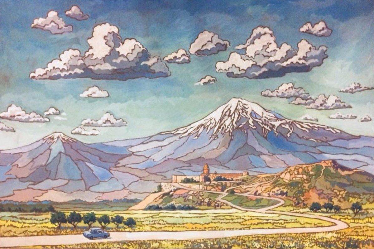 Выставка «Краски Армении»