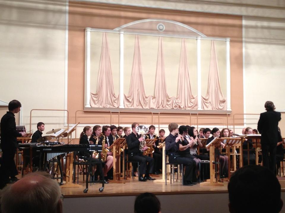 Гнесинский концертный зал наПоварской