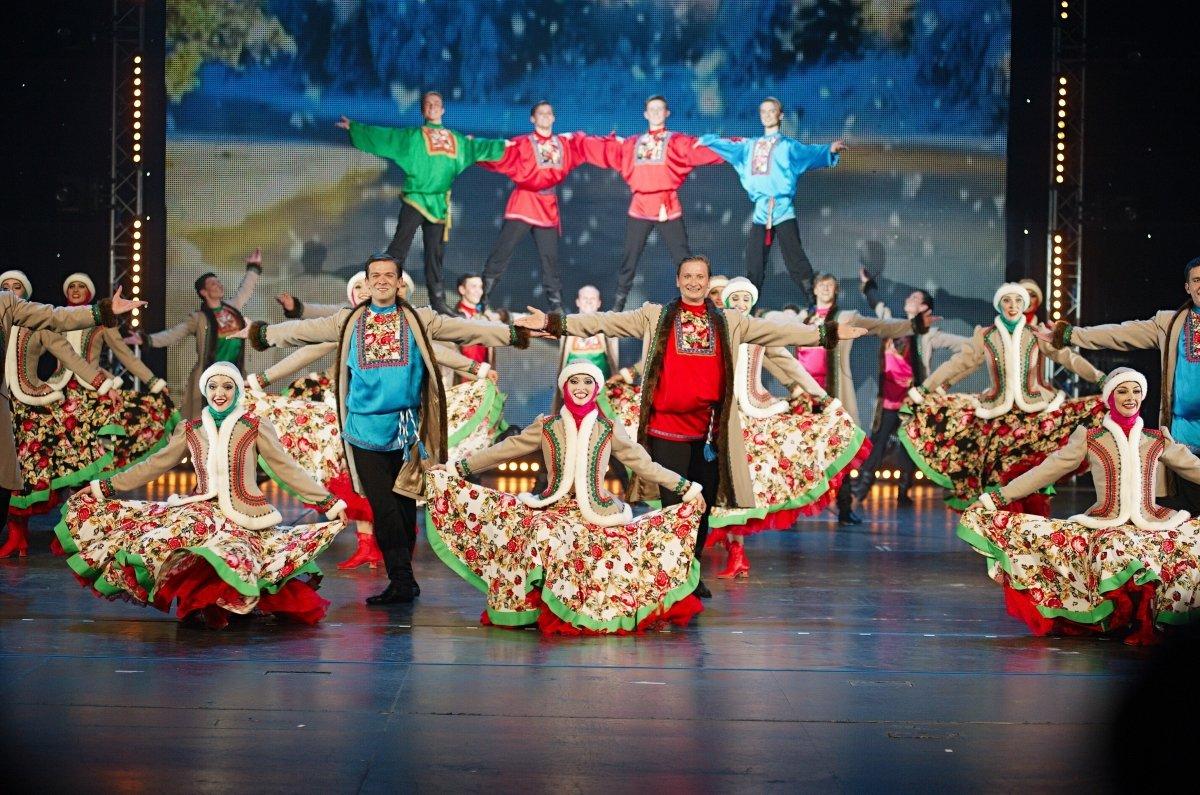 Национальное танцевальное шоу «Гжель» 2018