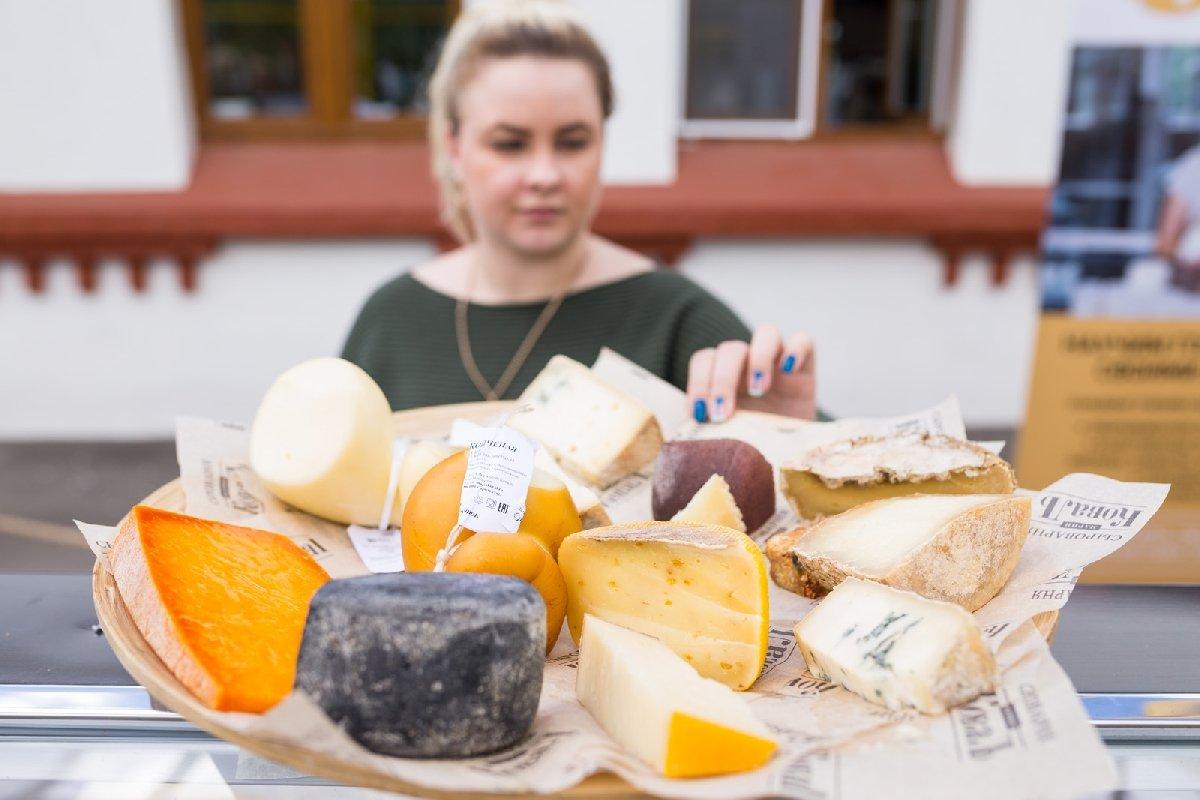 VIФестиваль сыра наВДНХ