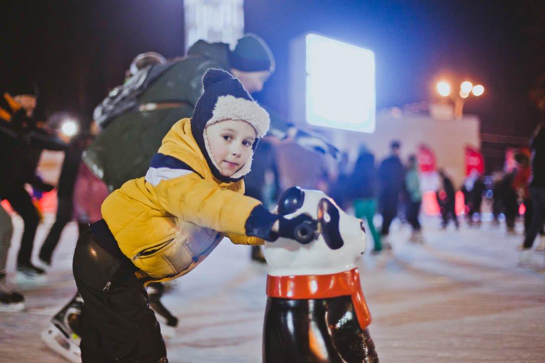 Открытие зимнего сезона впарке «Сокольники» 2017