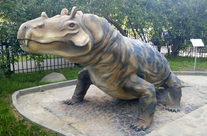 Открытие Палеопарка вДарвиновском музее