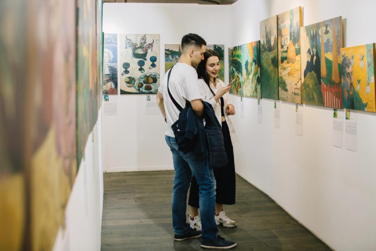 Выставка «Ван Гог иГоген»