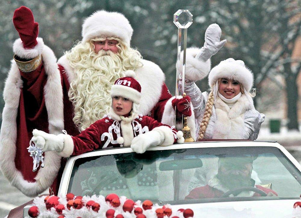 Путешествие Деда Мороза поокругам Москвы 2015
