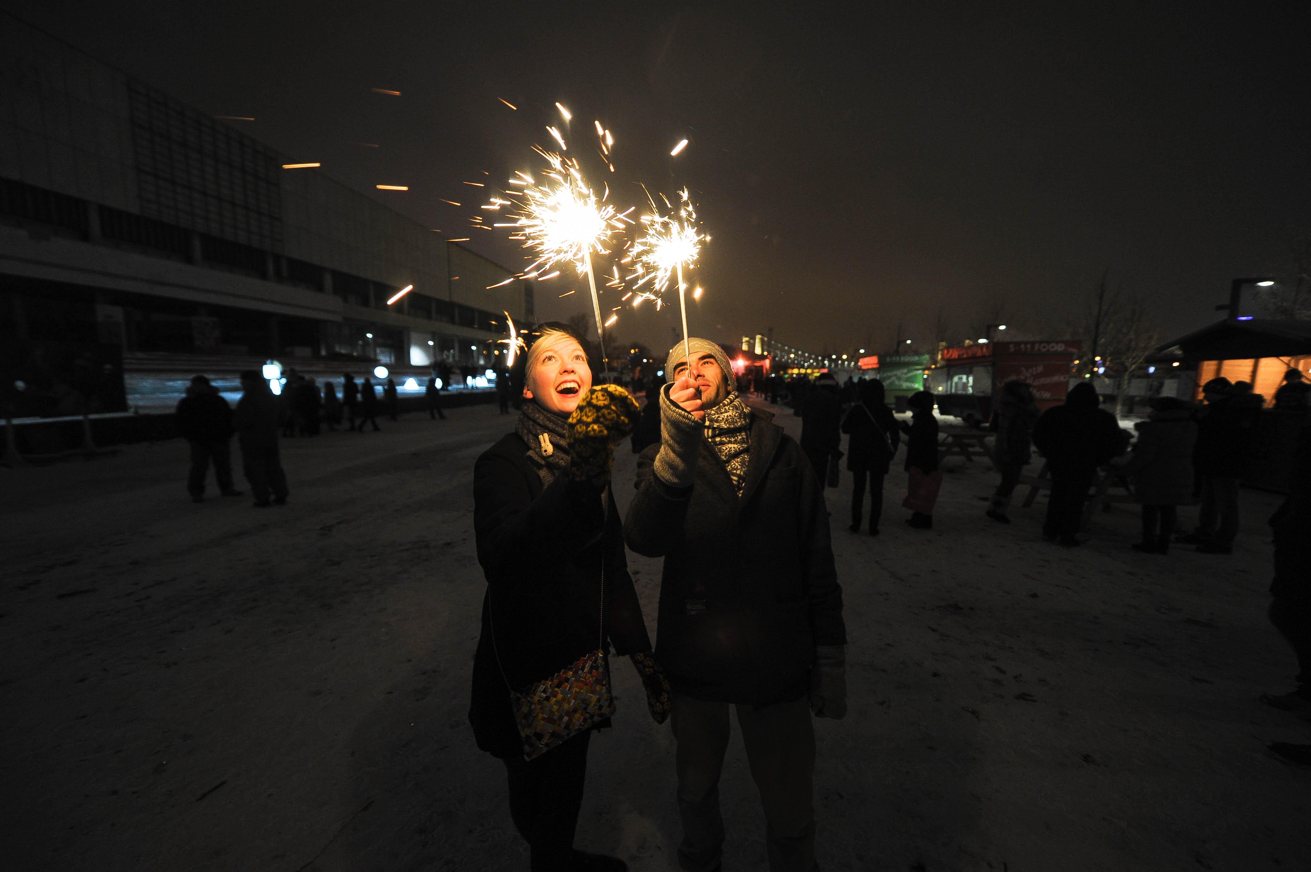 Новый год вПарке искусств МУЗЕОН 2016