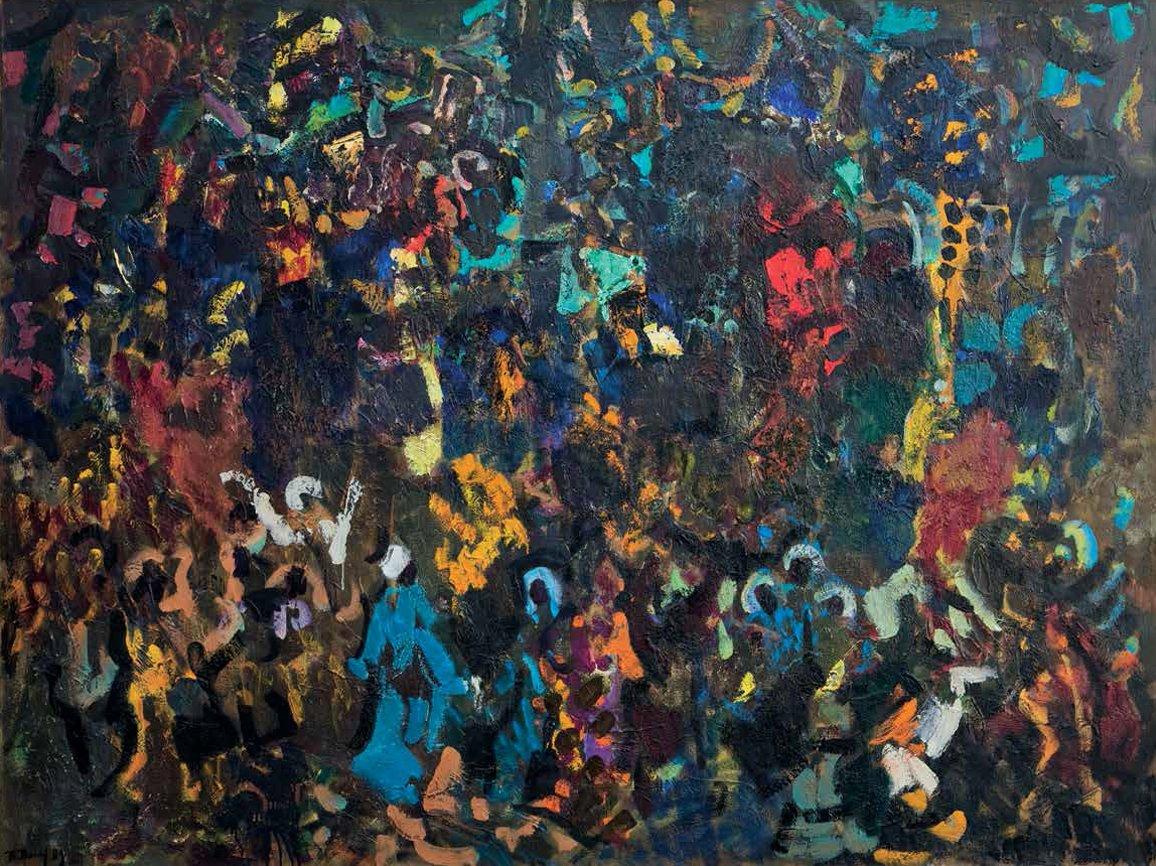 Выставка «Валерий Волков. Пантомима цвета»
