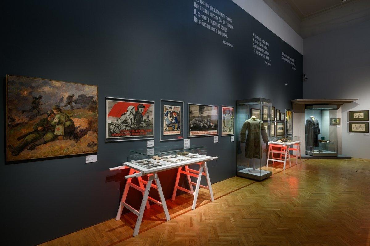 Выставка «Медики вгоды Великой Отечественной войны»