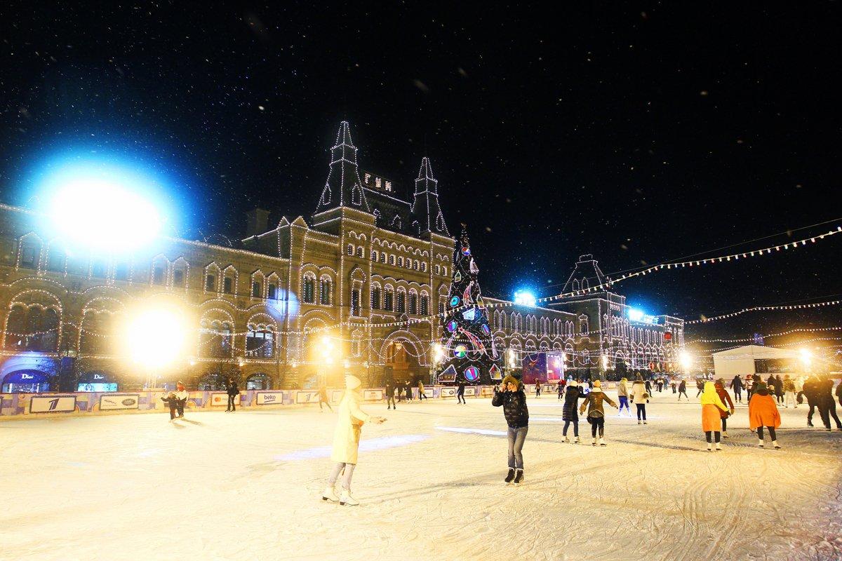ГУМ-Каток наКрасной площади 2016