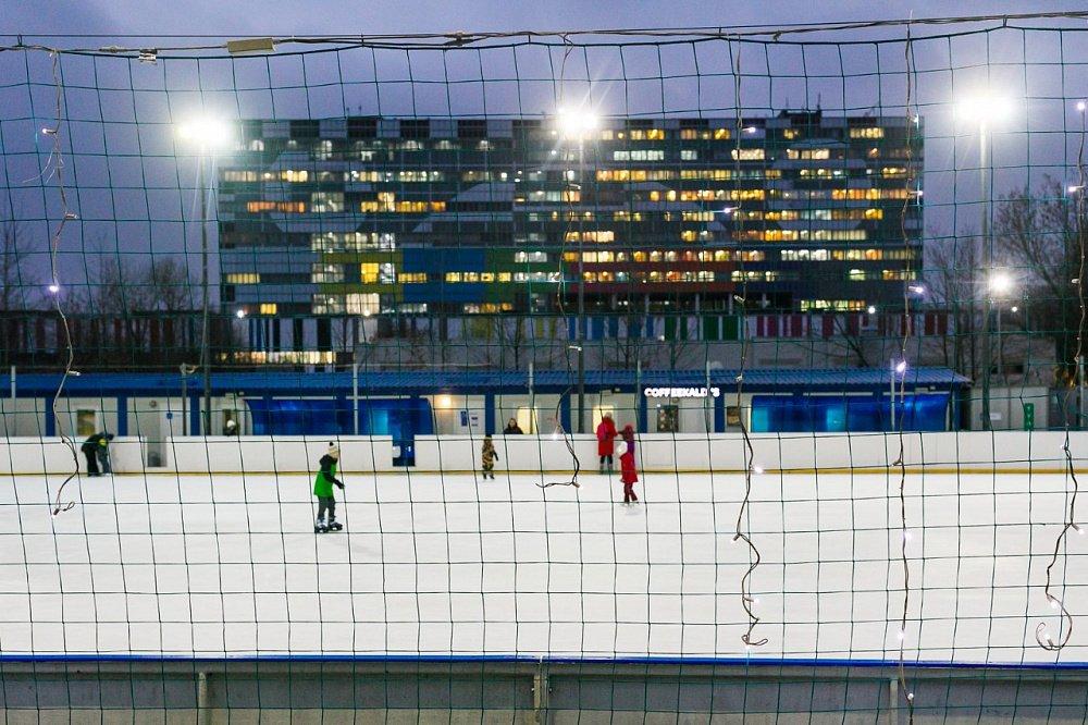 Каток впарке «Останкино» 2020–2021