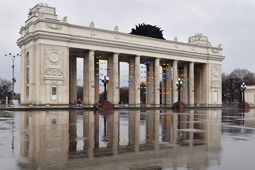 Музыка наСмотровой площадке Парка Горького