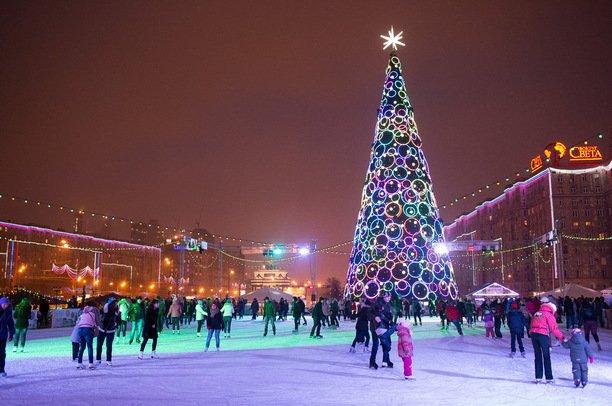 Новогодние каникулы вМоскве 2017