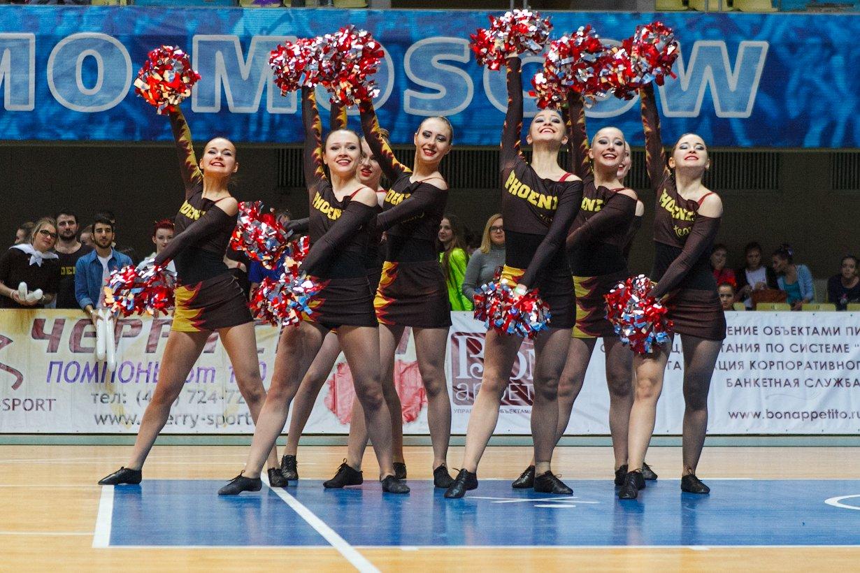 Открытый Кубок Москвы почерлидингу 2016