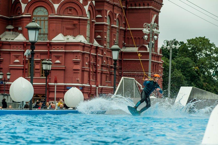 Открытие вейк-парка вцентре Москвы 2017