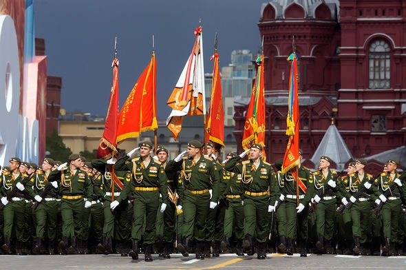 Парад Победы 2015 вМоскве