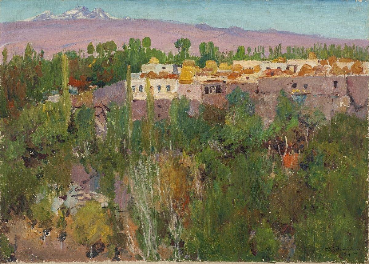 Выставка «Егише Татевосян»