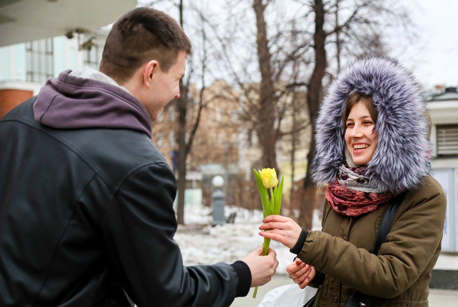 8 марта впарках Москвы 2017