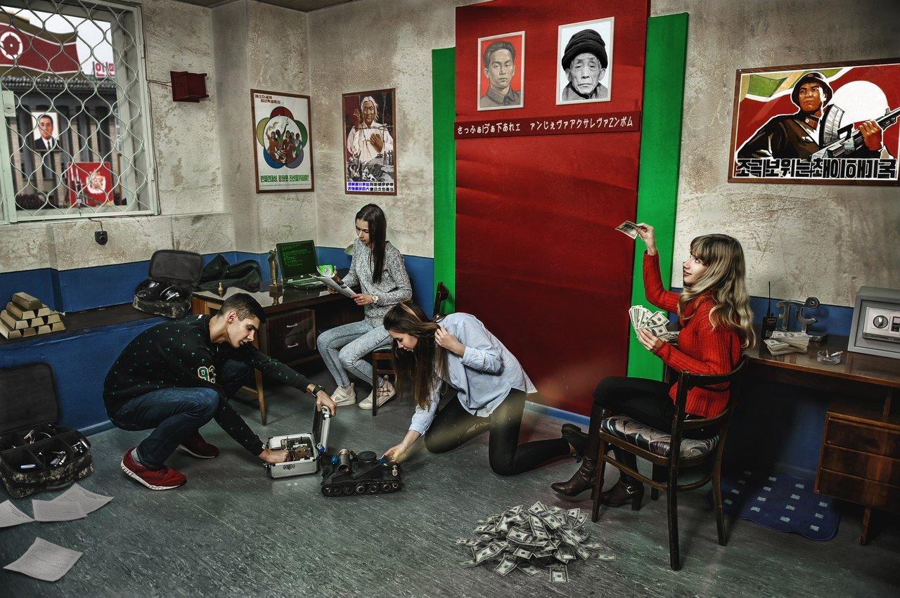 Квест вреальности «Шпионская история: Побег изпосольства»
