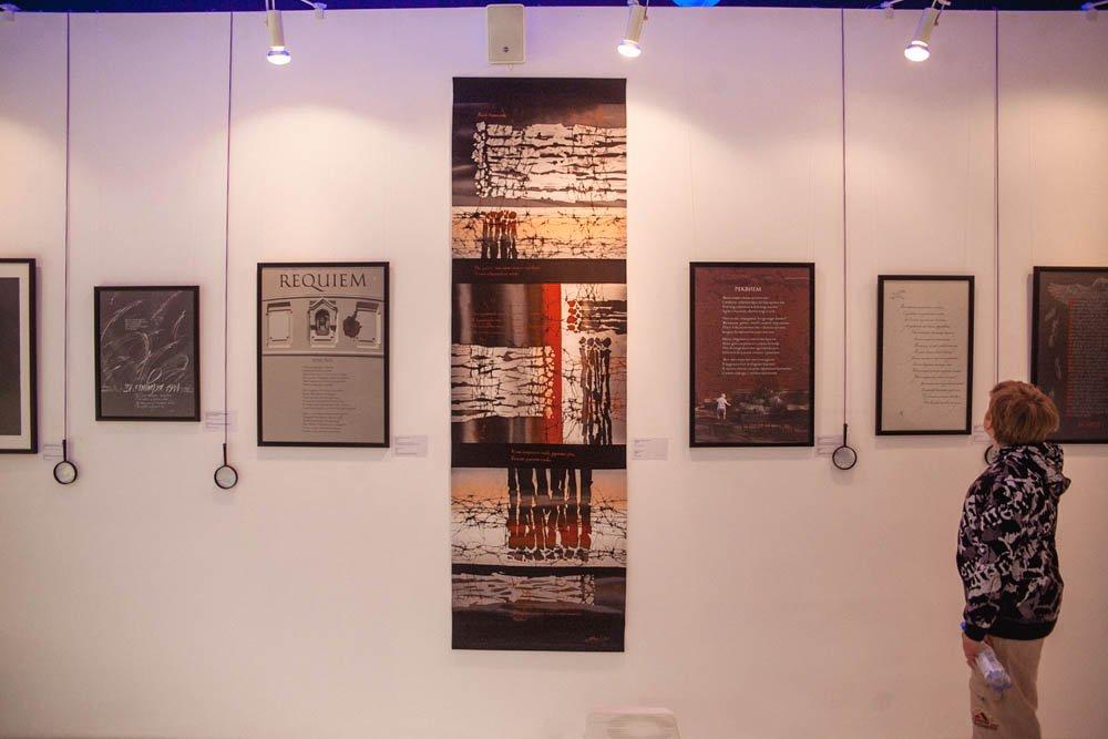 Выставка каллиграфии коДню Победы 2018