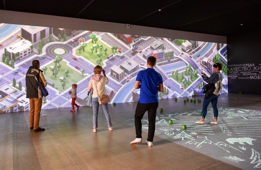 Выставка «Москва. Город меняется для вас»