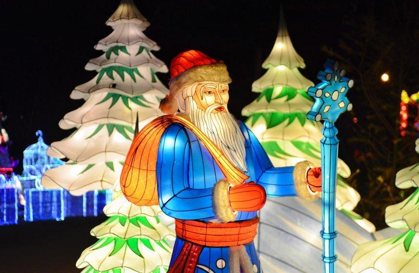 Фестиваль волшебных китайских фонарей впарке «Сокольники» 2019/2020