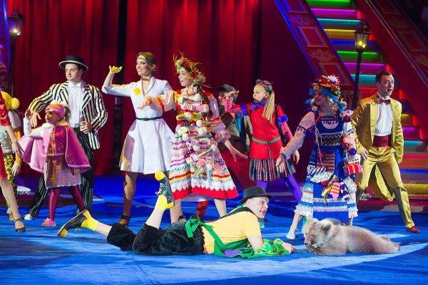 Цирковая программа «Опять нам впуть!» 2017