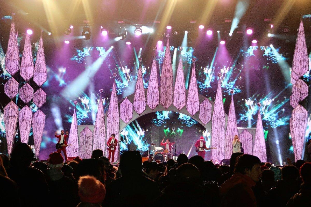 Новогодняя ночь вПарке Победы наПоклонной горе 2020