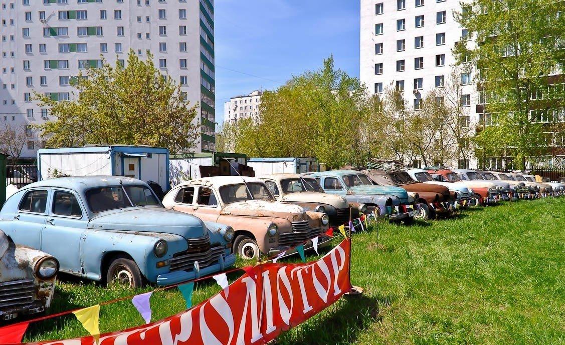 Парад старинных автомобилей имотоциклов «Ретромотор» 2019