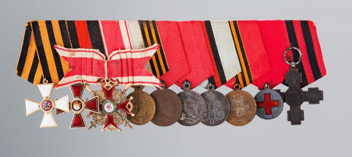 Выставка «За службу ихрабрость. 250 лет ордену Св. Георгия»