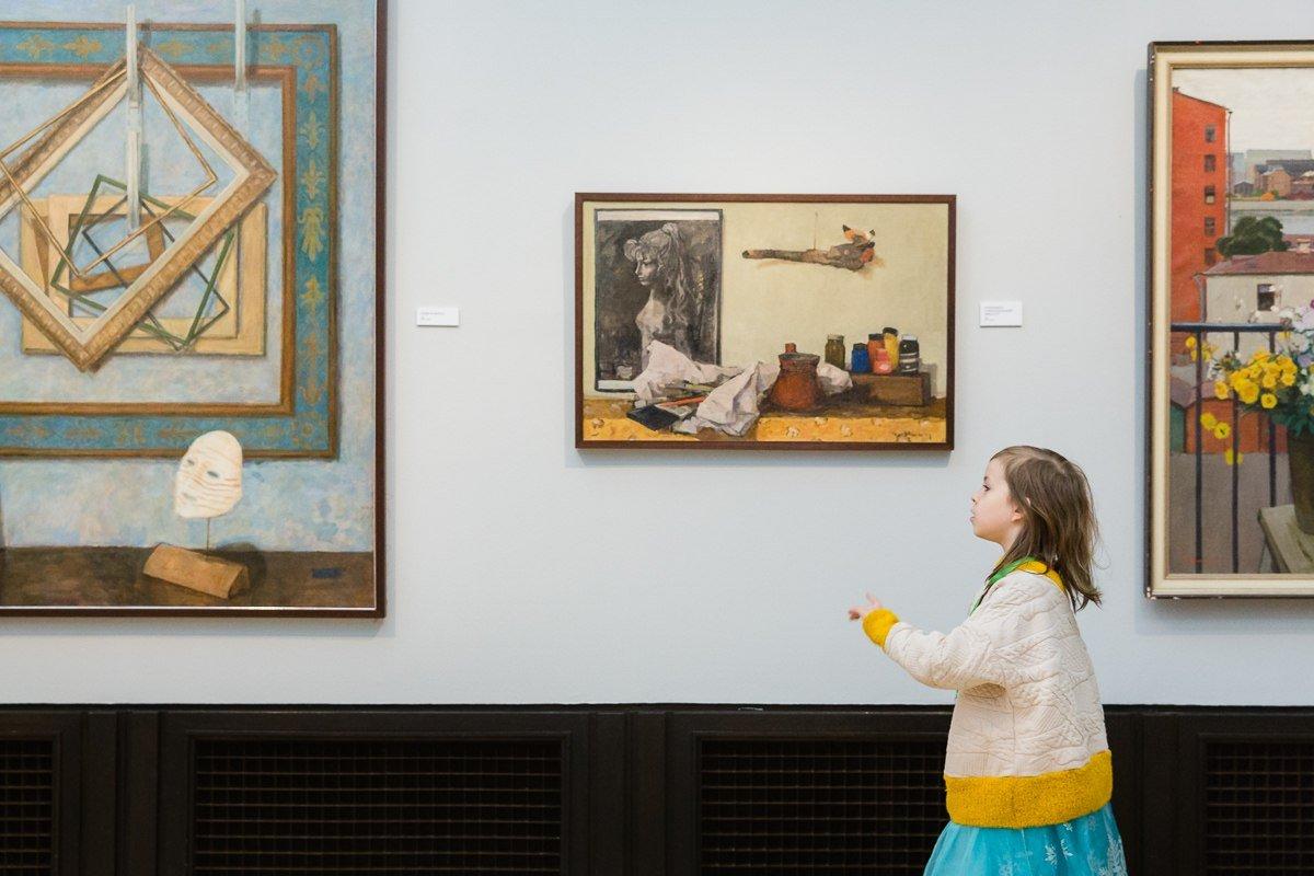 Выставка «Художник Никич. Мир внутри ижизнь снаружи»