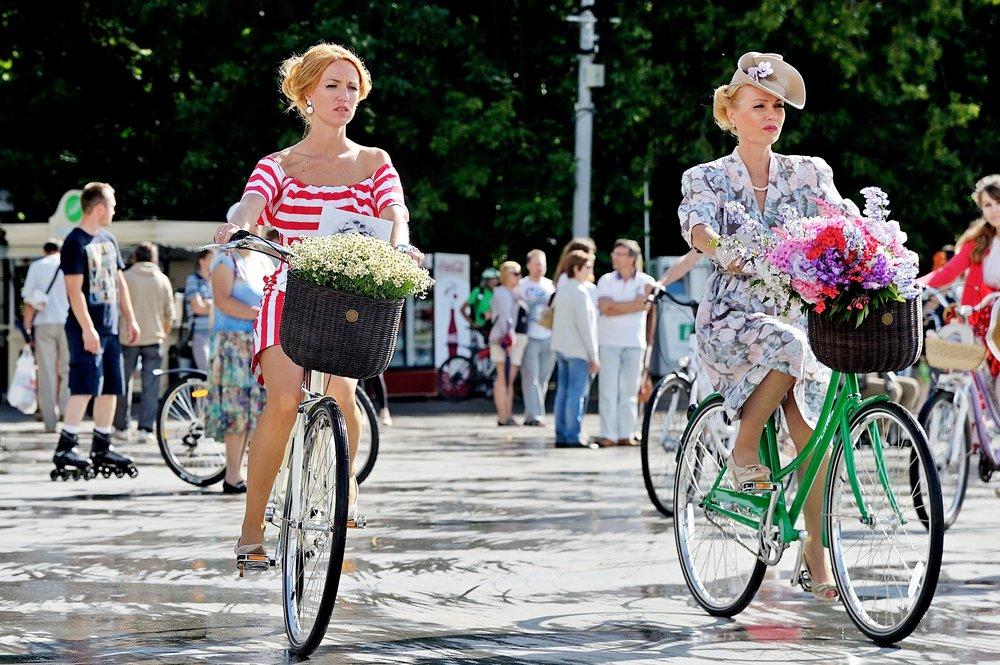Велопарад «Леди навелосипеде» 2016