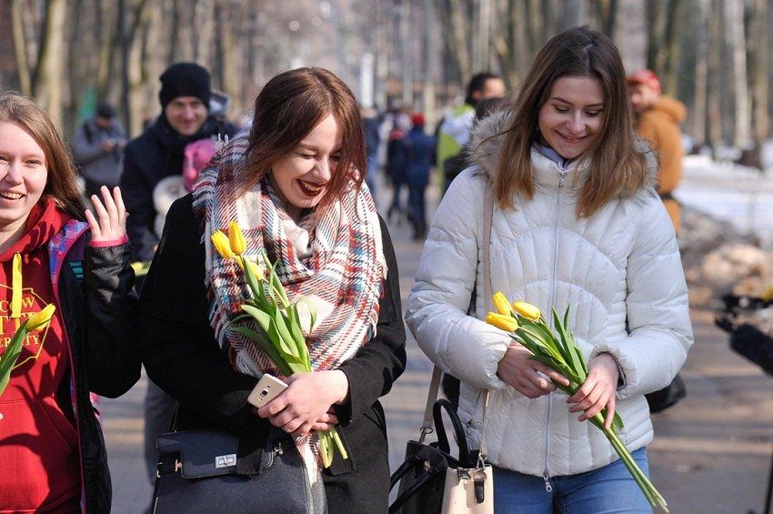 8 марта вТаганском парке 2020