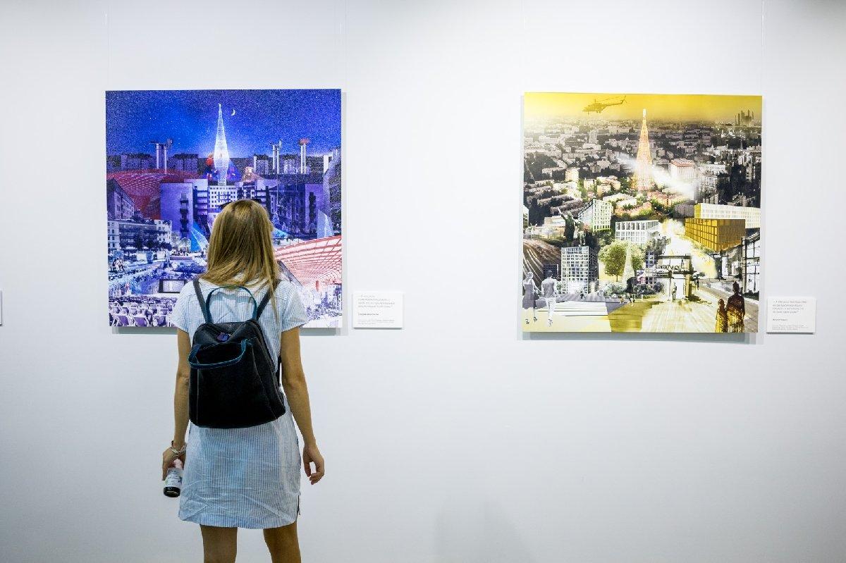 Выставка «Шаболовка: временная архитектура»