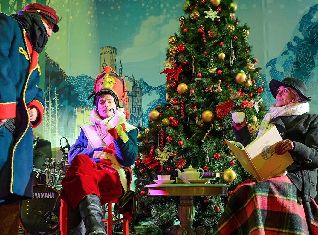 Рождество впарках Москвы 2019