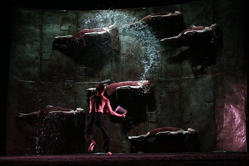 Ночь одноактных балетов наВДНХ 2017