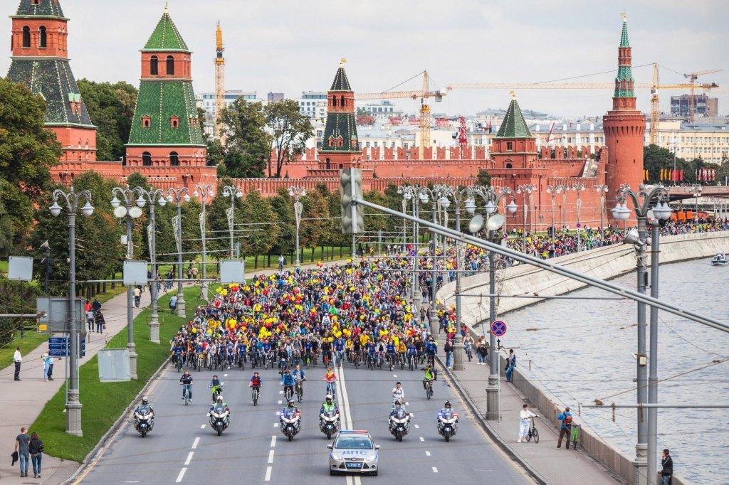 XIМосковский Велопарад 2016