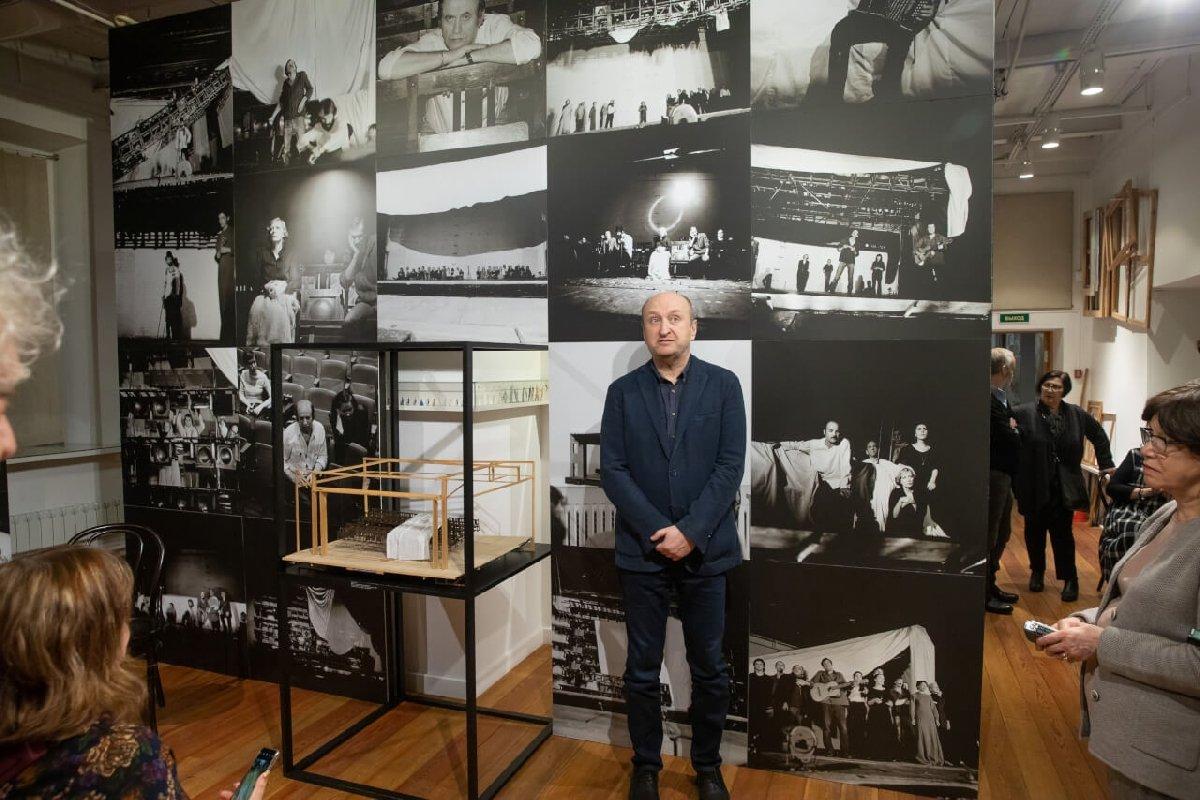 Выставка «Давид Боровский– Владимир Высоцкий»