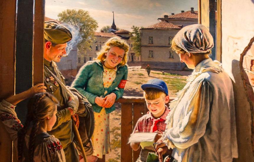 Выставка «Память поколений: Великая Отечественная война визобразительном искусстве»