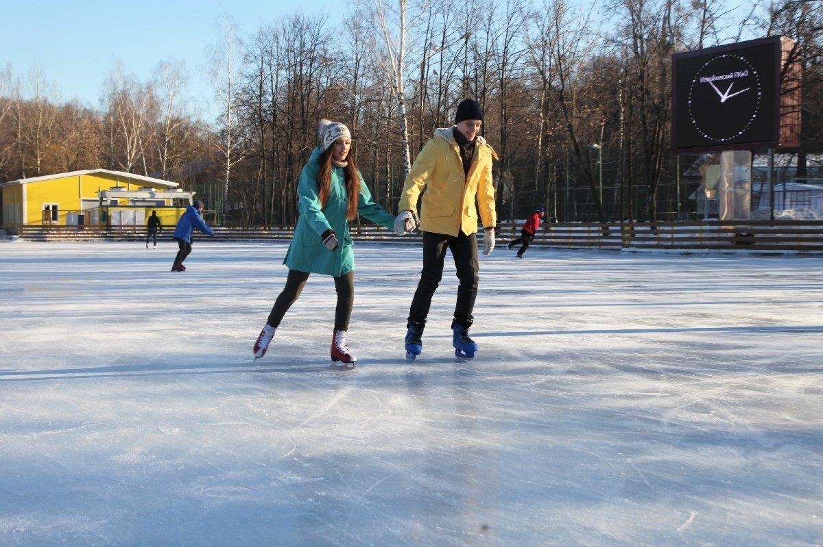 Открытие зимнего сезона вИзмайловском парке 2017