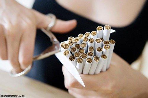 Акция «Цветы против сигарет»
