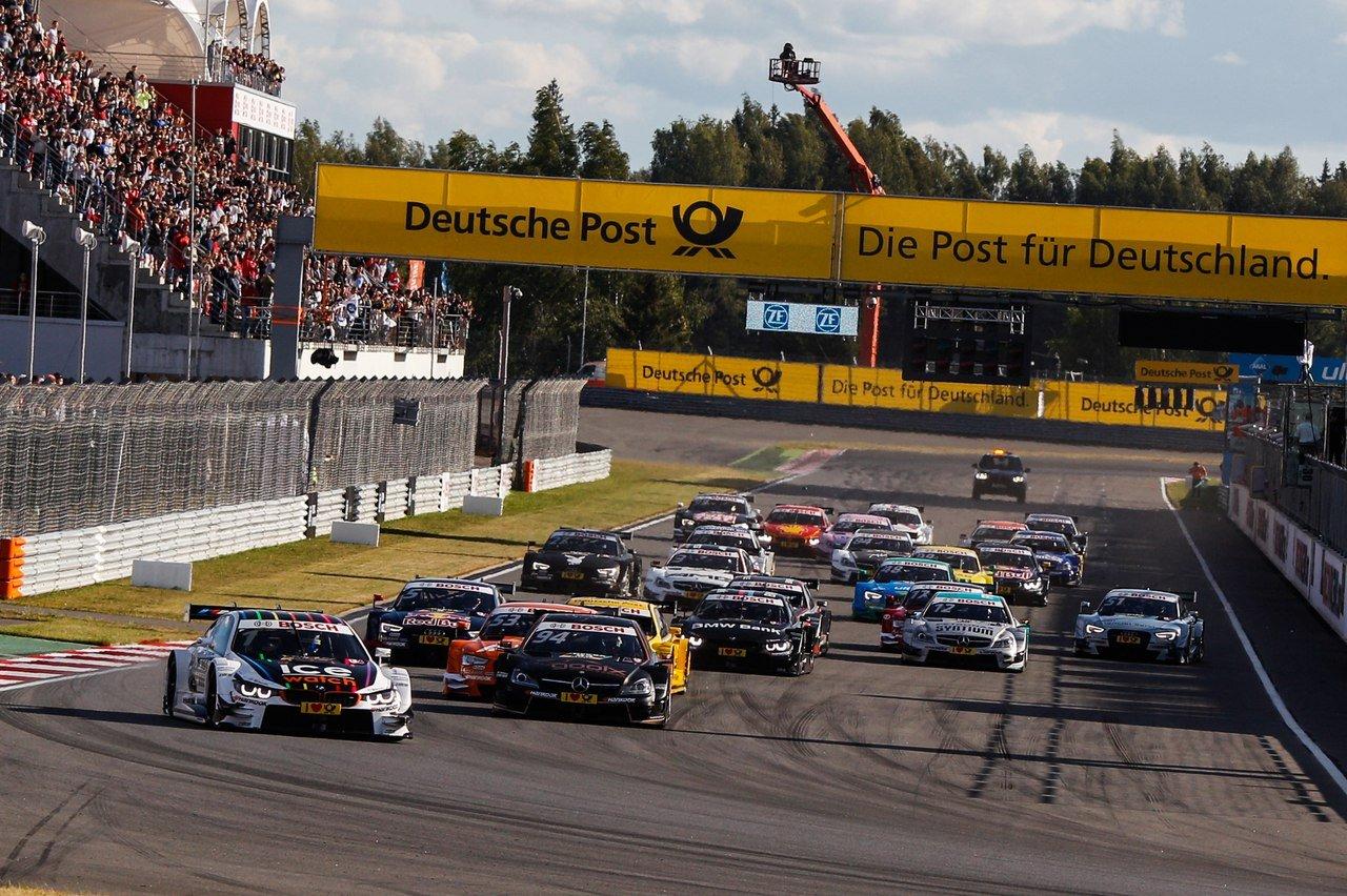 Гонки DTM на«Moscow Raceway» 2016