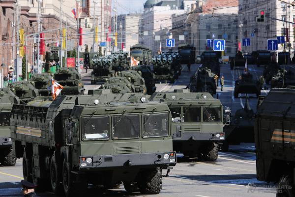 Парад Победы 2016 вМоскве