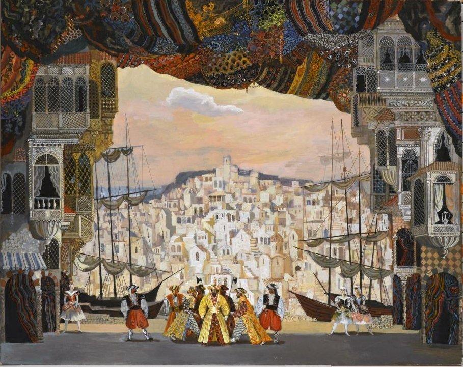 Выставка «Левенталь. Сцена иживопись»