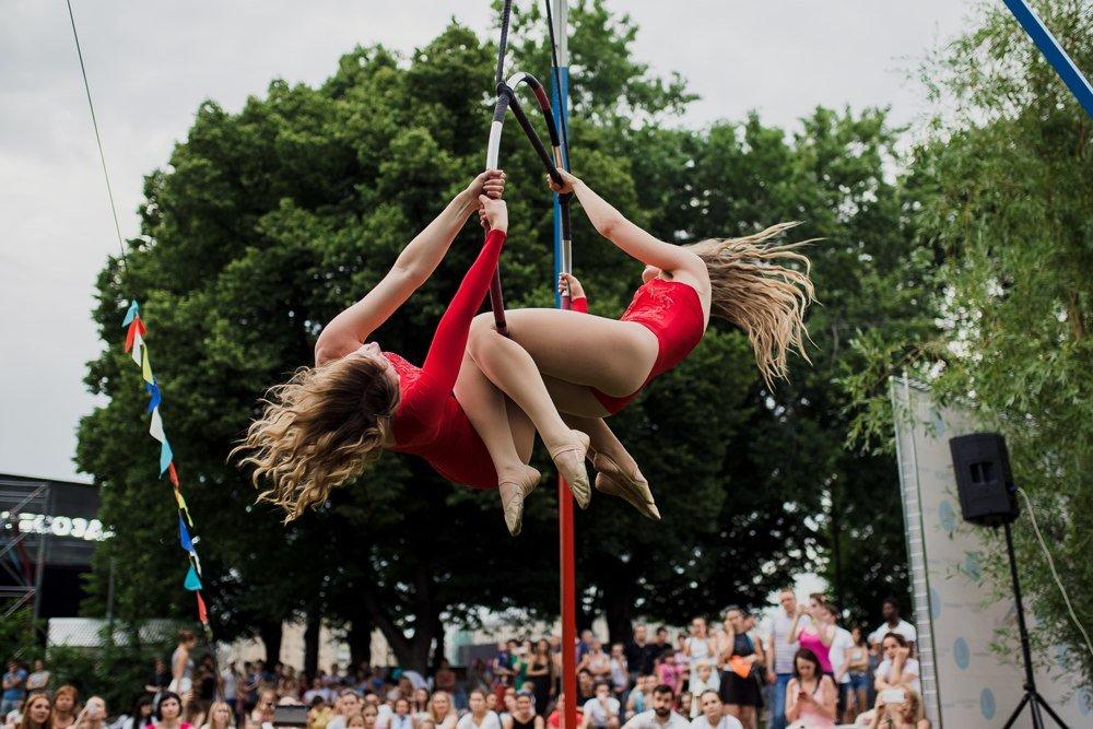 Фестиваль воздушной гимнастики вПарке Горького 2019