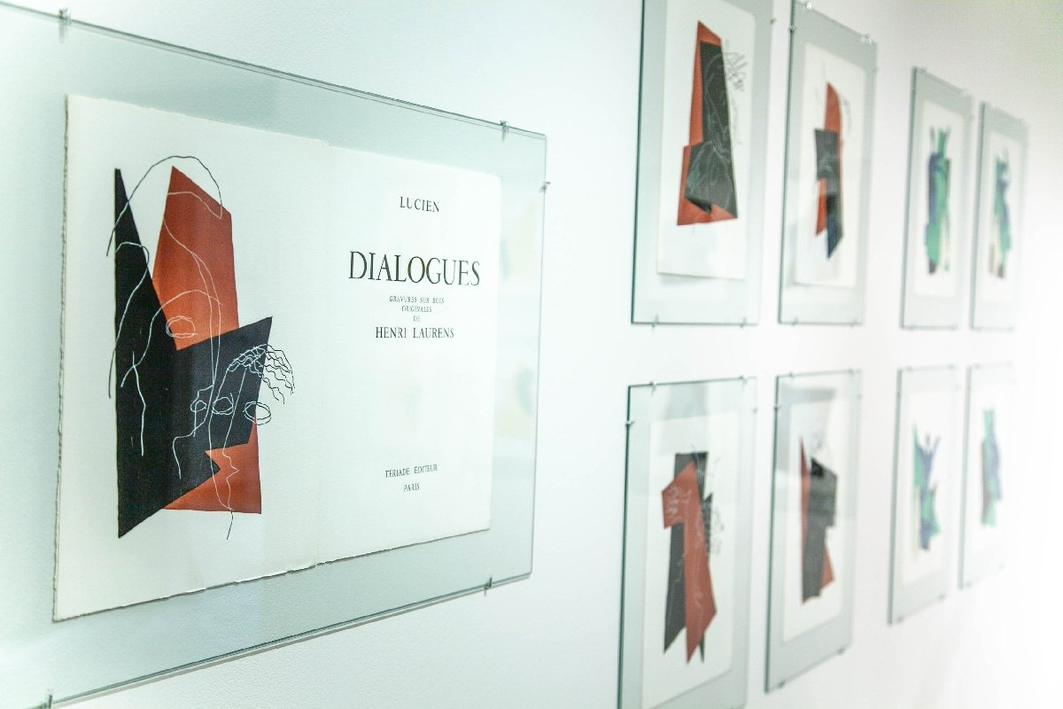 Выставка «Скульпторы иlivre d'artiste»