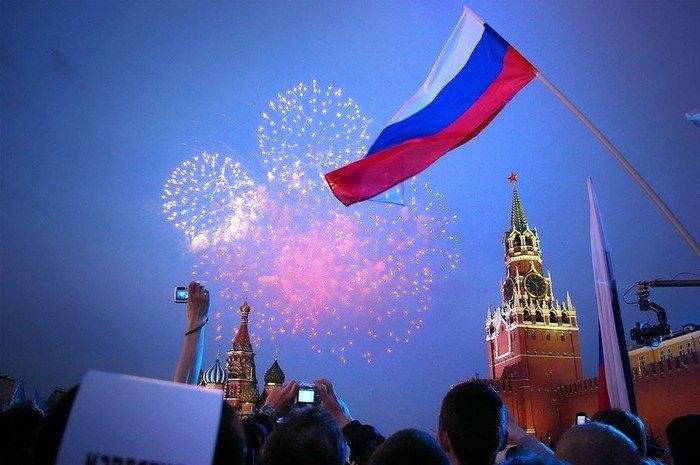 Расписание празднования Дня города вМоскве 2014