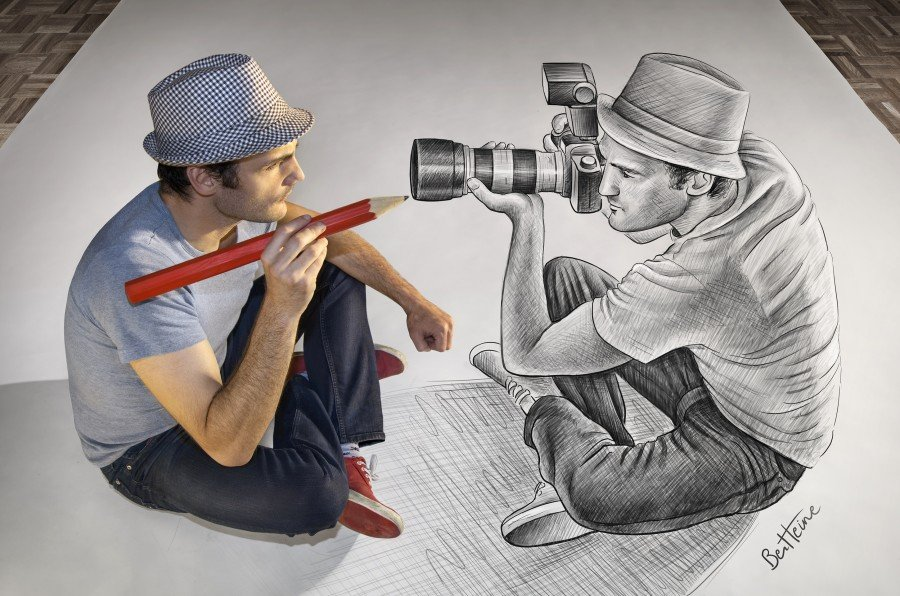 Выставка 3D иллюзий «Карандаш против камеры»