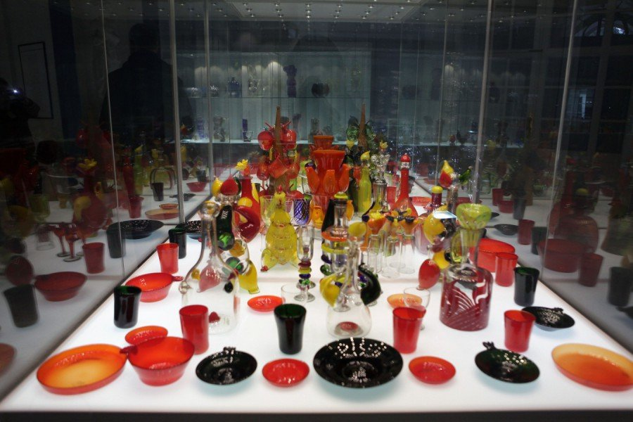 Выставка «Ода стеклу»