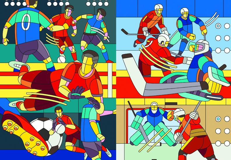 Выставка «Футбол— Хоккей»