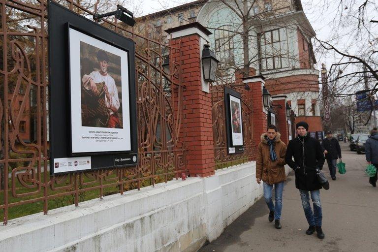 Выставка под открытым небом вСаду «Эрмитаж»